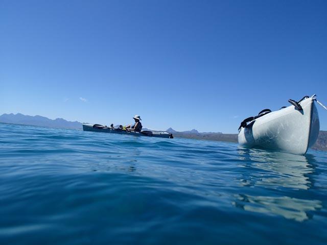 Kayaking Isla Coronados