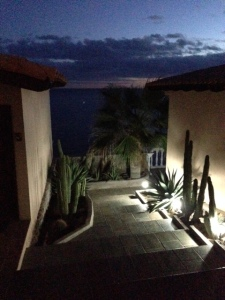 Early morning at Las Casitas, Santa Rosalia, BCS
